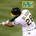 Matt Olson Hits Grand Slam To Give A's 7-3 Win vs. Angels [VIDEO]