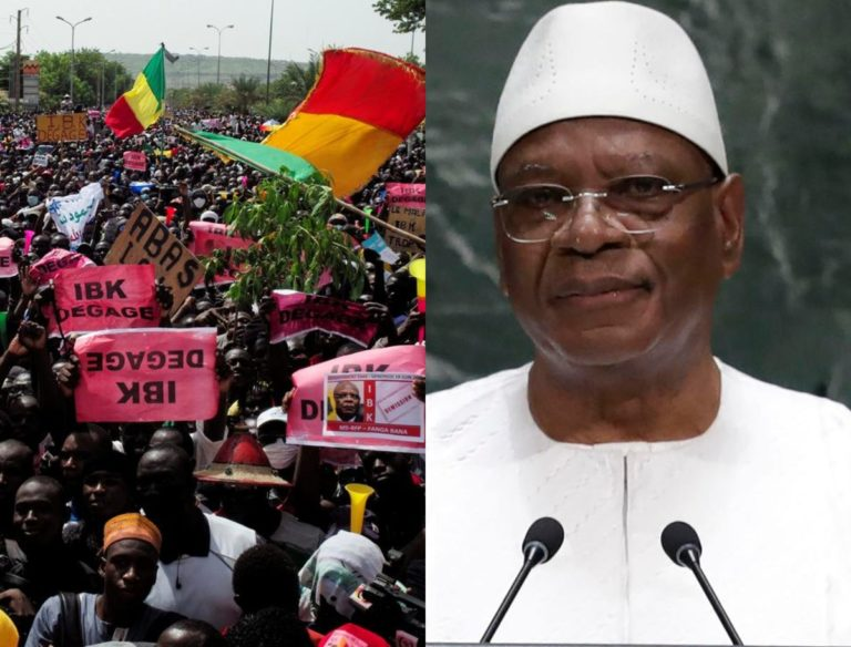 Mali: Protesters Reject ECOWAS Plan, Insist On President's Resignation