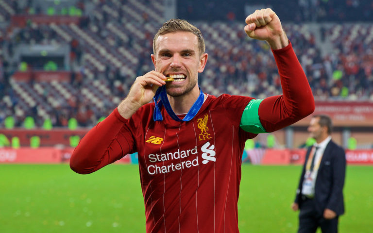 Liverpool's Jordan Henderson Scoops FWA Player Of The Year Award