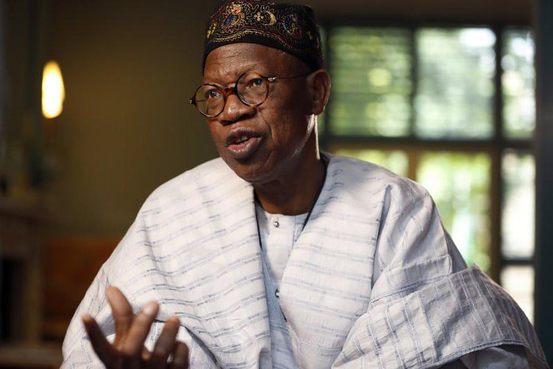 PDP-Led Governments Responsible For Corruption In NDDC - Lai Mohammed