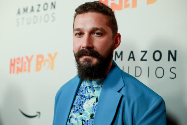 Shia LaBeouf isn't playing around in the trailer for THE TAX COLLECTOR