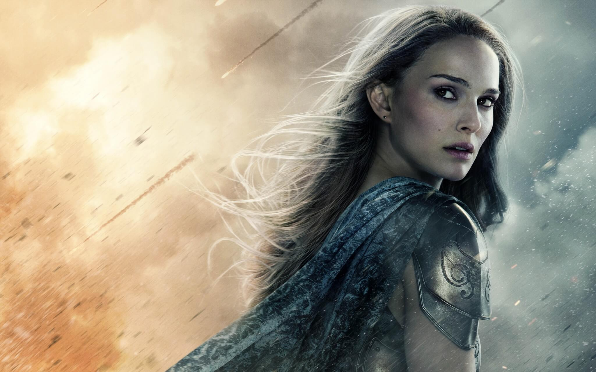 Natalie Portman returns as Jane Foster in THOR: LOVE & THUNDER