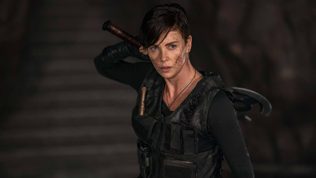 Charlize Theron is simply phenomenal in THE OLD GUARD