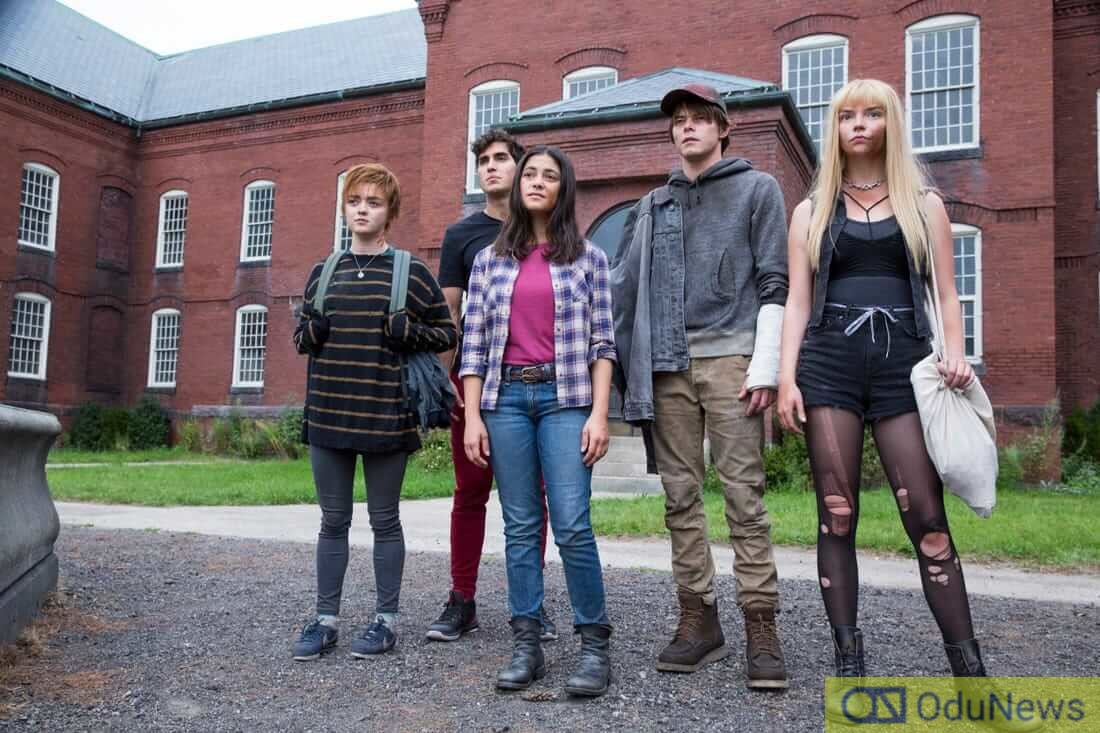 A scene from THE NEW MUTANTS
