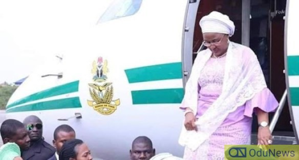 After Returning From Dubai, Aisha Buhari Seeks Reduction Of Foreign Medical Trips