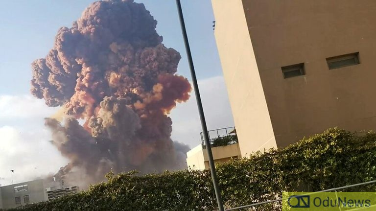 Dozens Feared Dead, Hundreds Injured As Large Explosion Rocks Beirut [VIDEO]