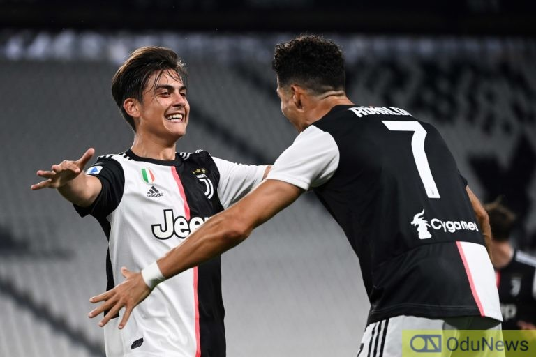 Ronaldo Misses Out As Paulo Dybala Scoops Seria A Player Of The Season