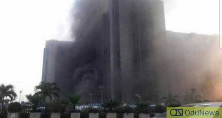 Fire guts a section of ECOWAS Building in Abuja