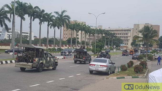 Police Arrest Over 40 #RevolutionNow Protesters In Abuja