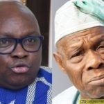 Obasanjo Will Be Jailed If I Become Nigeria's President - Fayose