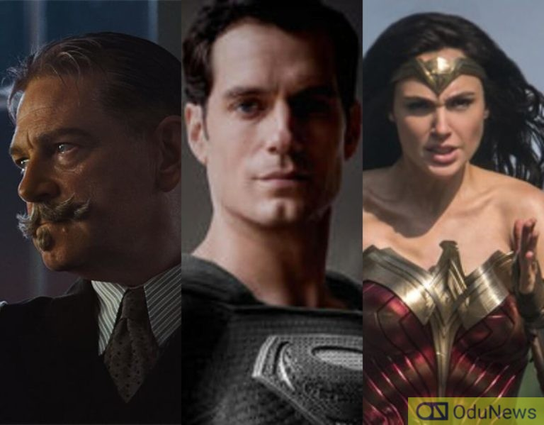 Kenneth Branagh Returns In Trailer For 'Death On The Nile', Zack Snyder Shares Teaser For His 'Justice League' Version & 'Wonder Woman 1984' Director Says It's Not A Political Film