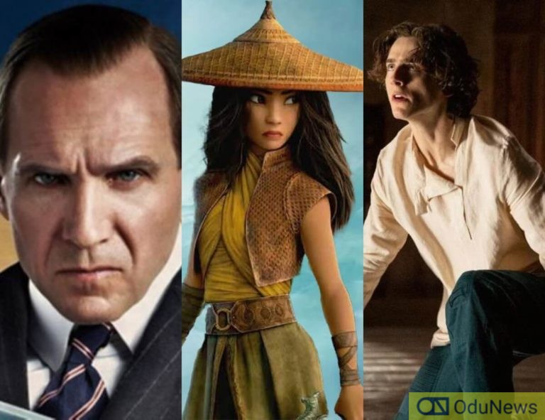 'The Kingsman' Gets New Release Date, Disney's 'Raya And The Last Dragon' Recasts Its Lead & 'Dune' Trailer Coming Next Month