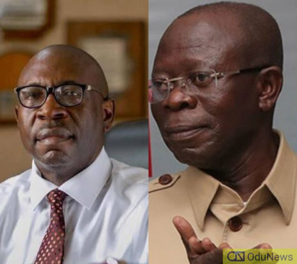 Edo Guber: Oshiomhole Not My Godfather... He Works For Me - Ize-Iyamu