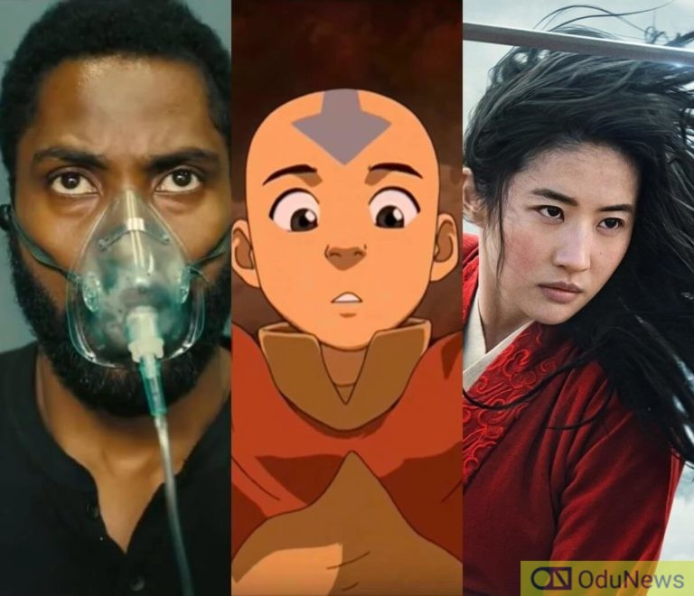 'Tenet' Dominating UK Box Office, Netflix Responds To 'Avatar' Live-Action Series' Creators' Exit & Spectacular Last Trailer For Disney's 'Mulan'
