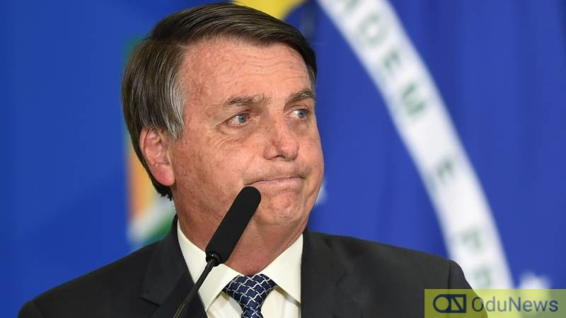 Brazil's President Bolsonaro Threatens To Punch Reporter In The Mouth