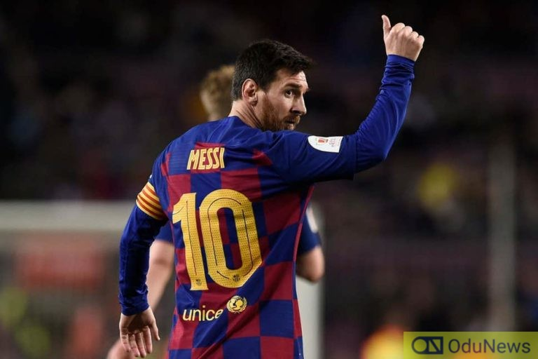 Messi's Father Says His Son Could Remain At Barcelona