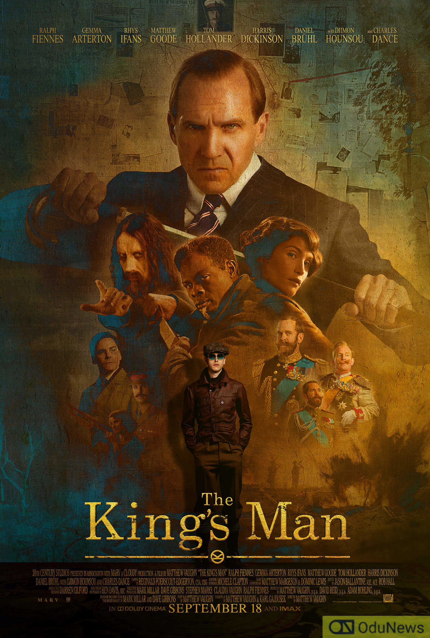 The Kingsman movie poster