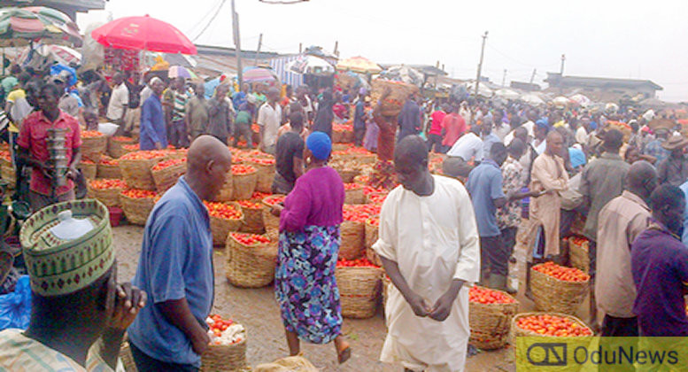 Mile 12 Market in Lagos is notable for perishable foodstuffs