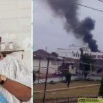 JUST IN: Fire Razes Ooni Of Ife's Palace