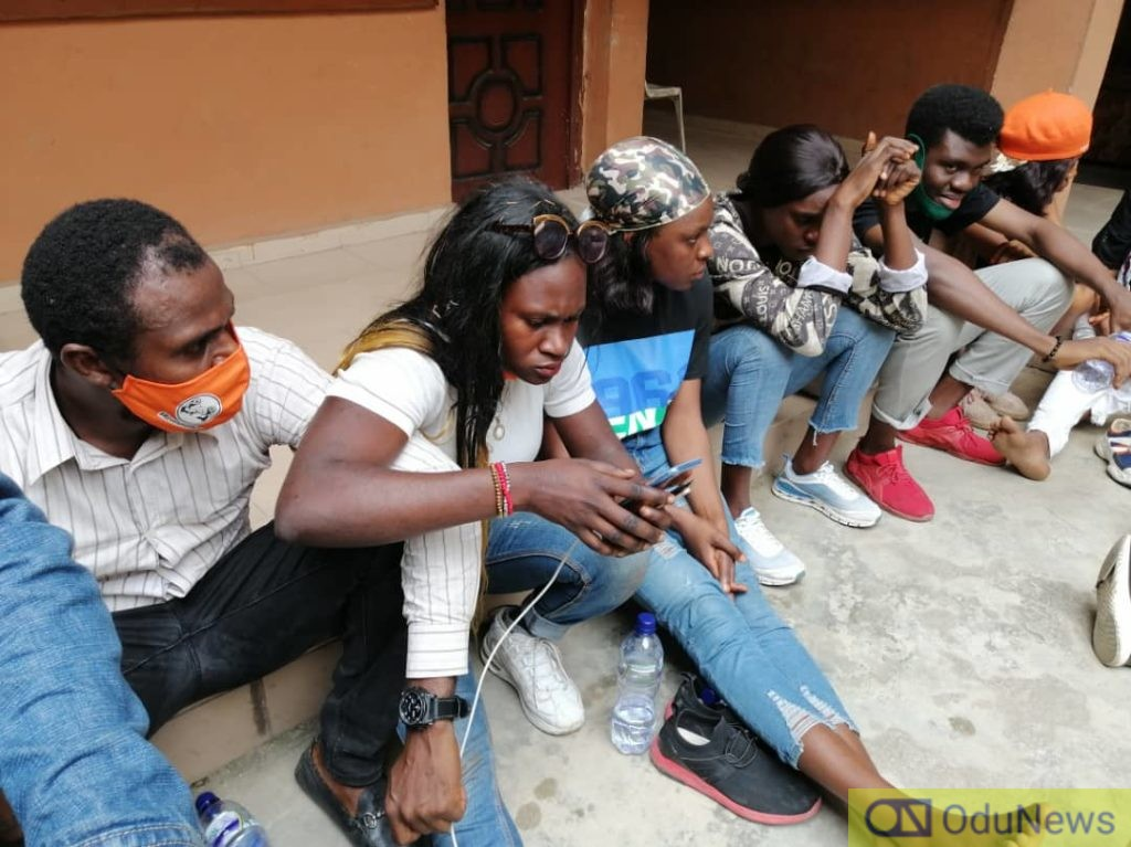 #RevolutionNow: Police Arrest Agba Jalingo, 18 Other Protesters In Lagos