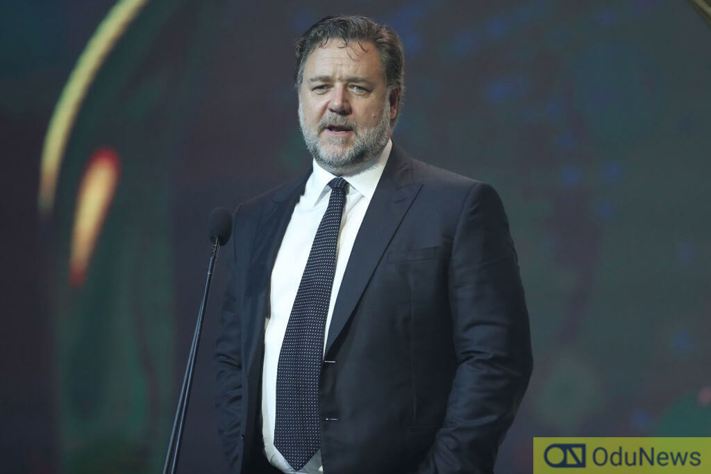 Russell Crowe markets his new movie UNHINGED in a new video