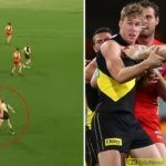 Tom Lynch Slammed Over 'Cheap Shot' On Defender In Richmond's Narrow-win Against Gold Coast