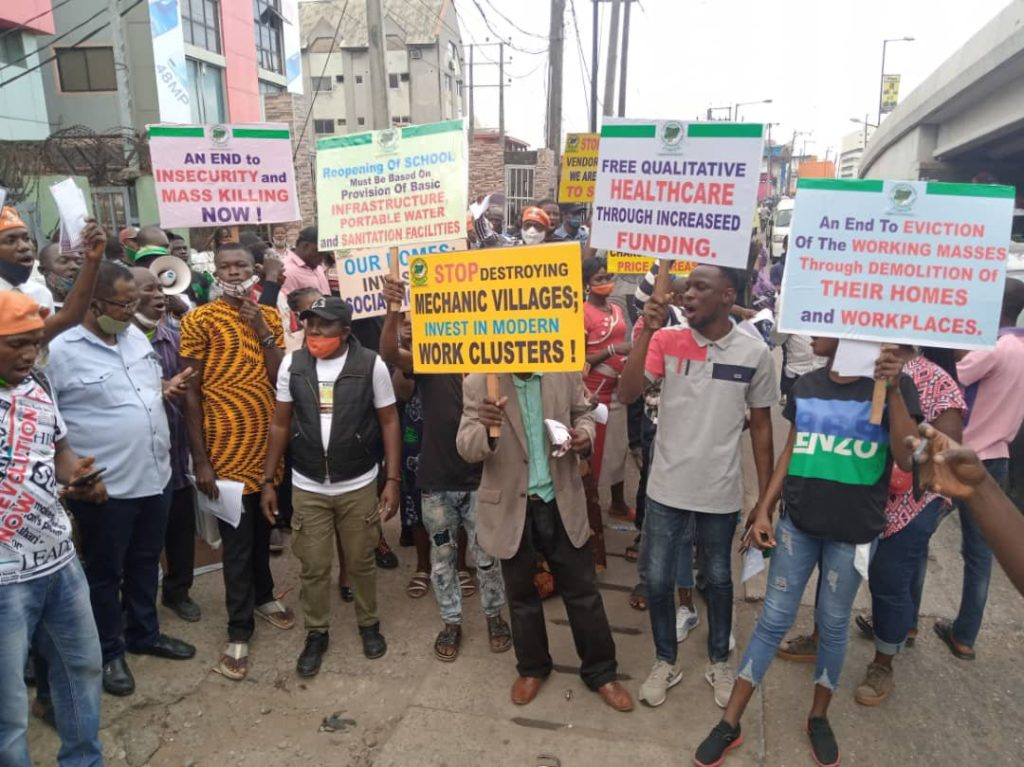 #RevolutionNow Protesters Arrested For Violating COVID-19 Guidelines - Police