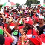 PDP Women Protest At Edo Assembly