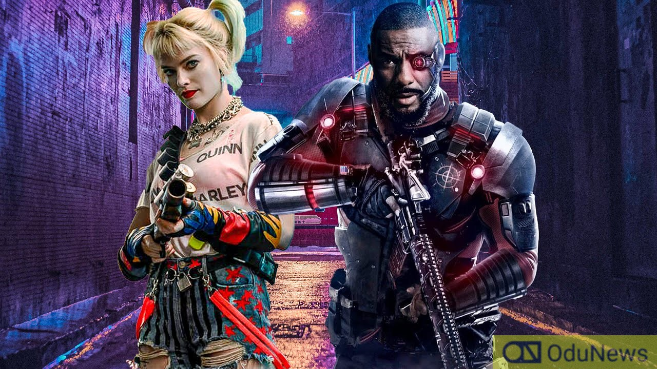 Margot Robbie and Idris Elba star in THE SUICIDE SQUAD