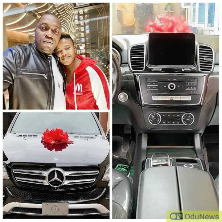 Sex Therapist, Angela Nwosu Gifts Her Husband A Mercedes Benz As Birthday Gift