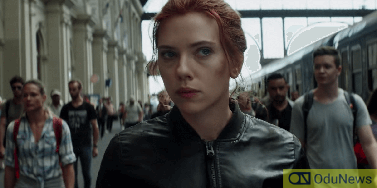 Scarlet Johansson as Natasha Romanoff in BLACK WIDOW