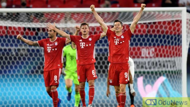 Bayern Clinch UEFA Super Cup After 2-1 Win Over Sevilla