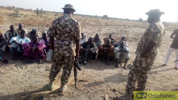 Boko Haram Commander, Four Wives Surrender To Nigerian Army