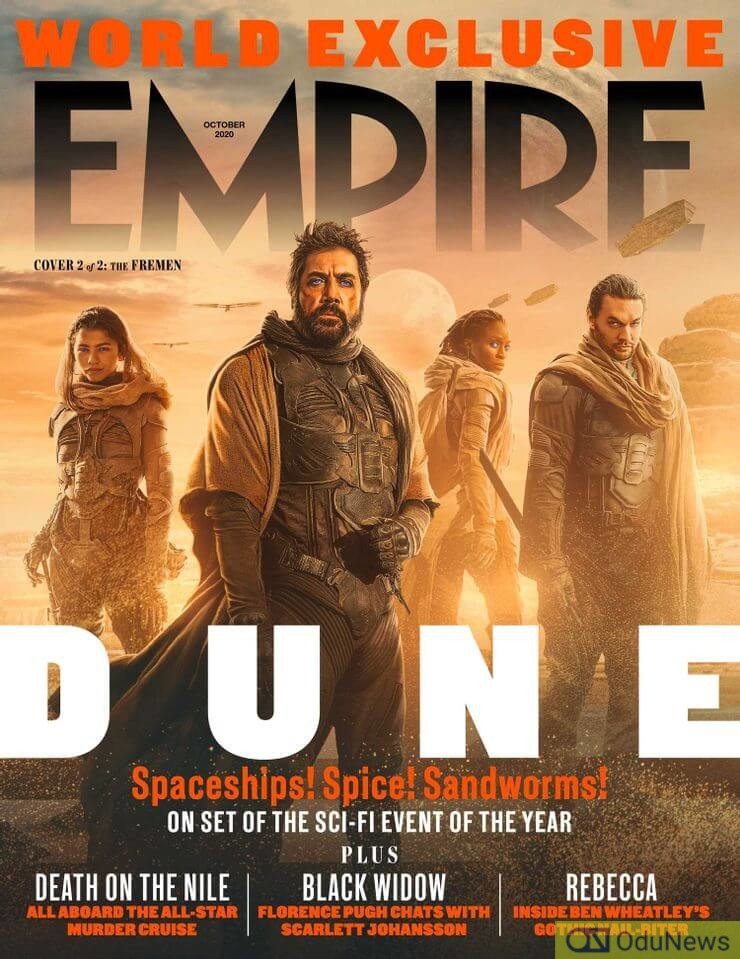 Empire cover for DUNE