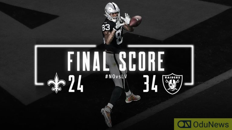 Raiders Open New Las Vegas Stadium With Statement Win Over Saints