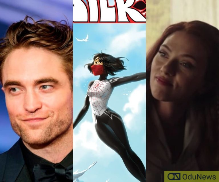 'The Batman' Filming Halted Due To Robert Pattinson Contracting Coronavirus, Scarlet Johansson Says Natasha Romanoff Is A Feminist & 'Silk' TV Series Being Developed By Sony