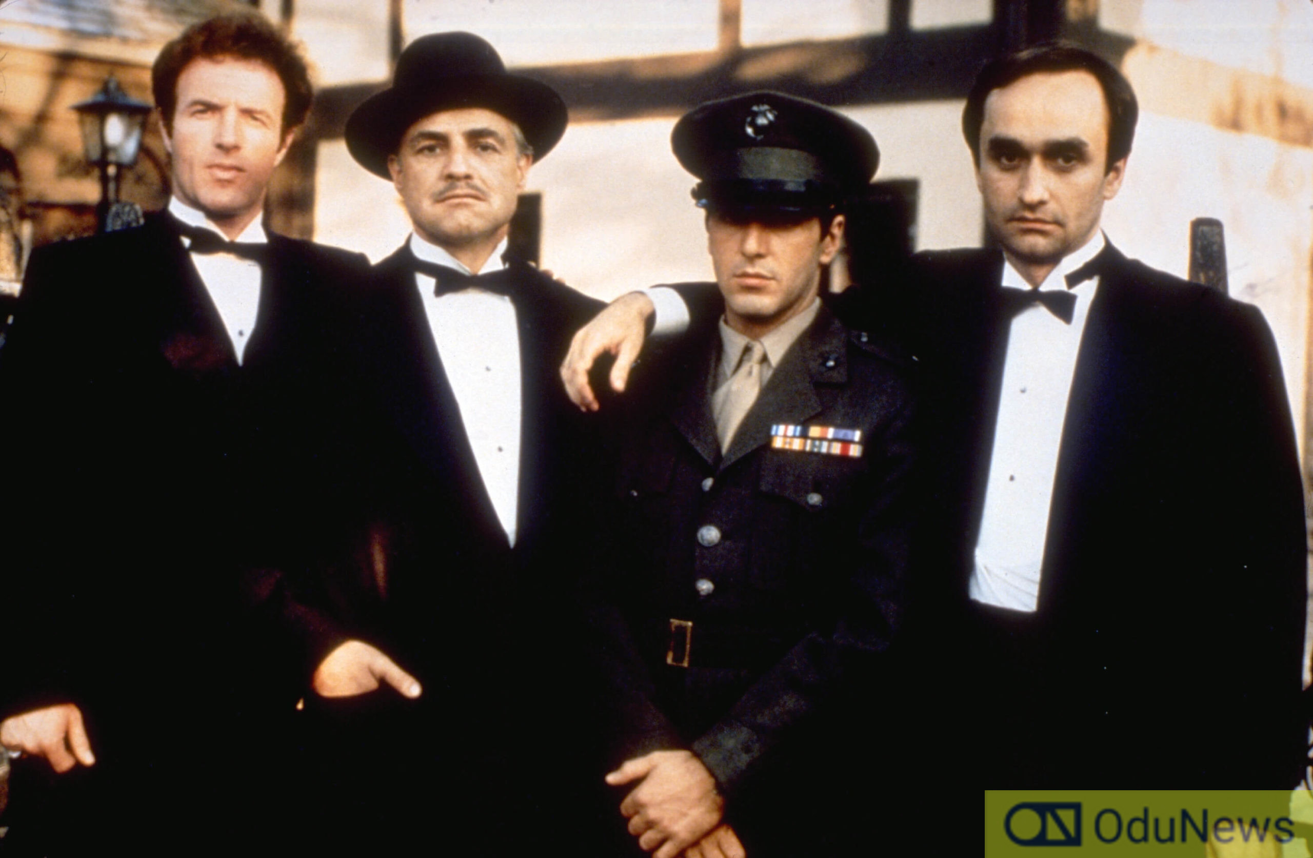 Some of the cast members of THE GODFATHER