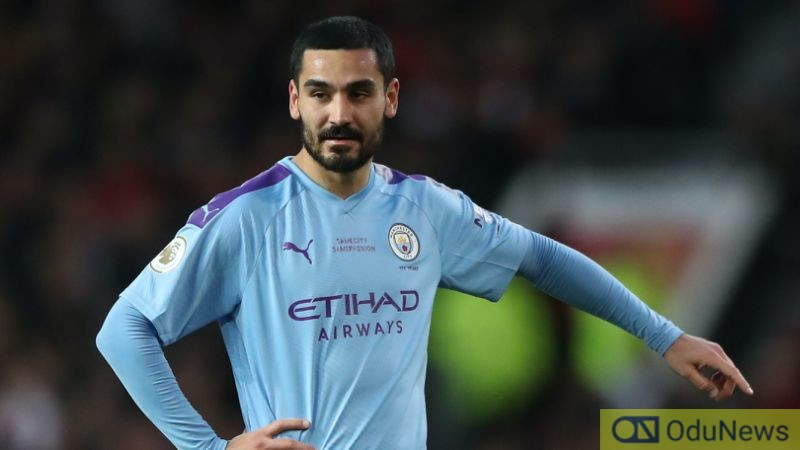 Man City's Ilkay Gundogan Tests Positive For Coronavirus