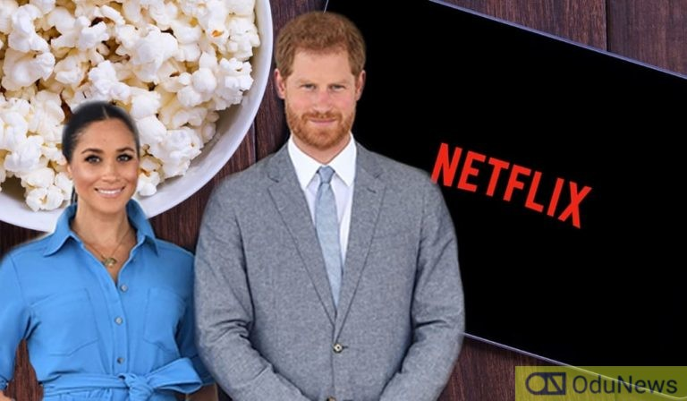 Harry And Meghan Markle Sign Netflix Deal To Make Shows