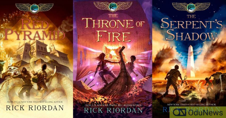 The KANE CHRONICLES books
