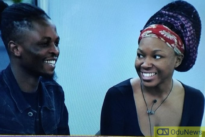 #BBNaija: You're My Lucky Charm - Vee Tells Laycon