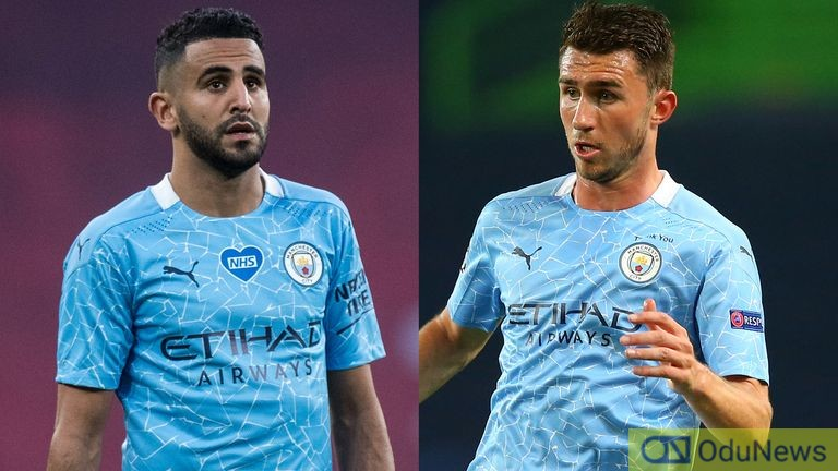 Man City's Mahrez & Larporte Test Positive For COVID-19