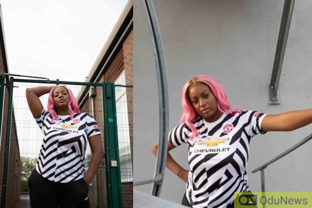 DJ Cuppy Features In Man Utd Ad To Launch New Jersey