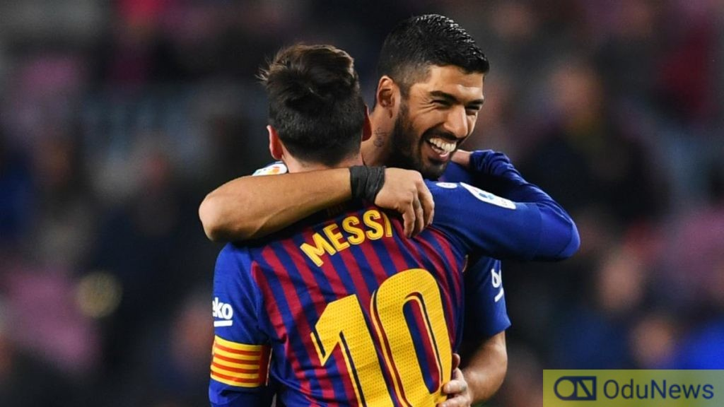 BREAKING: Messi Fights Barcelona Over Suarez Exit