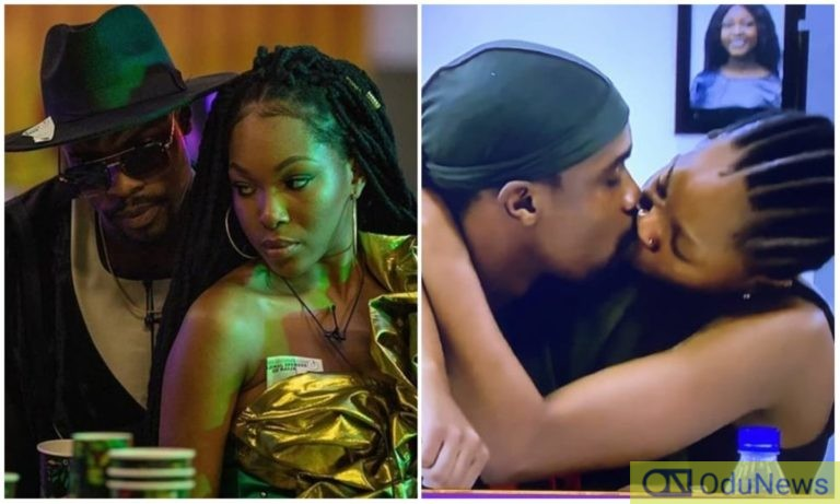 #BBNaija: Twitter Explodes As 'Warri' Neo Caught Washing Vee's Pants