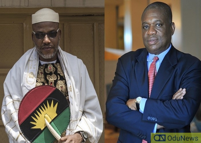 I Can Convince Nnamdi Kanu To End Biafra Agitation - Orji Kalu Tells Buhari