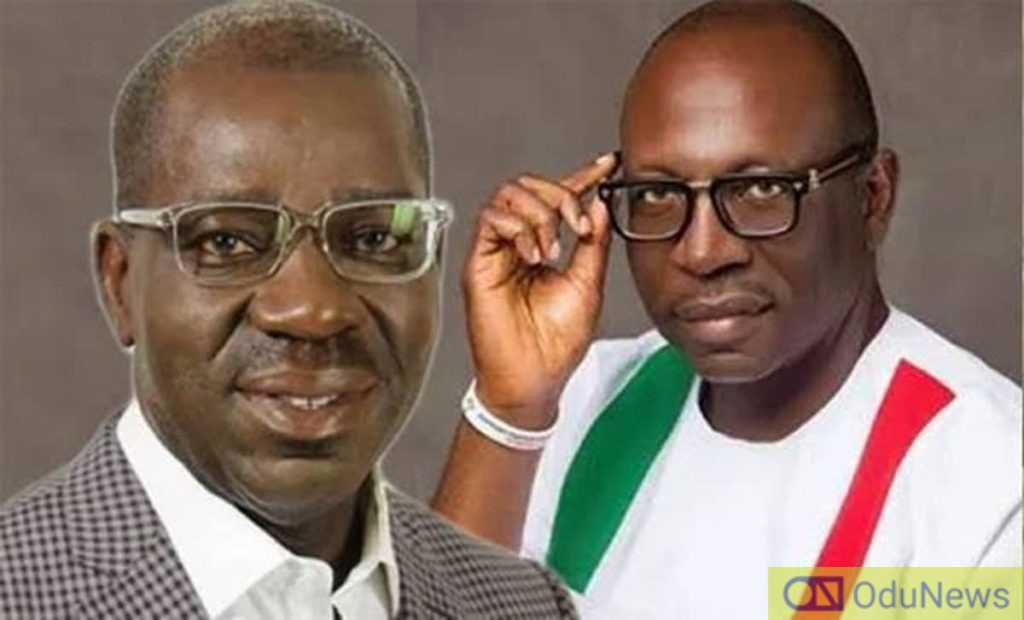 #EdoDecides2020: Two LGAs Left As Obaseki Leads Ize-Iyamu With Over 85,000 Votes