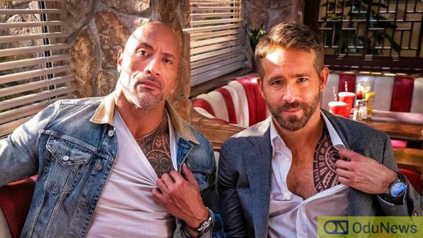 Dwayne Johnson and Ryan Reynolds