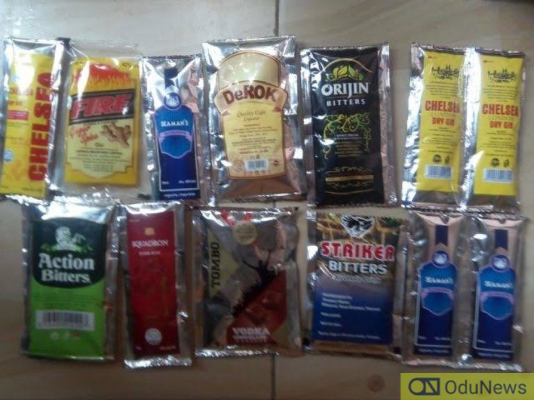 NAFDAC To Ban Sachet Alcohol Drinks