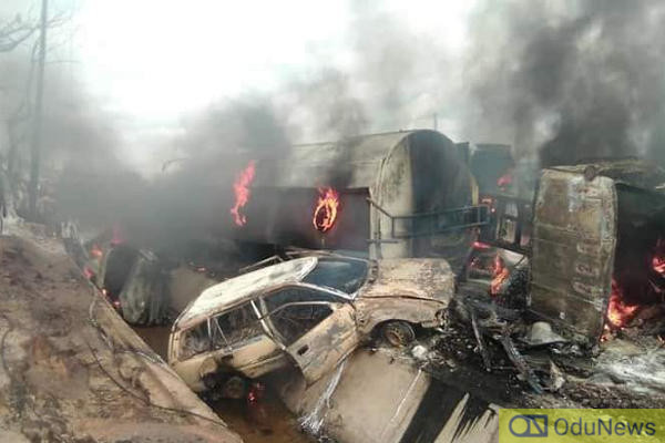 BREAKING: Gas Explosion Rocks Iju, Lagos [VIDEO]